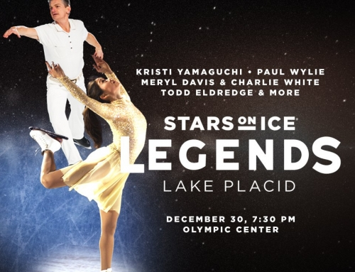 Eldredge in Stars on Ice Legends Show