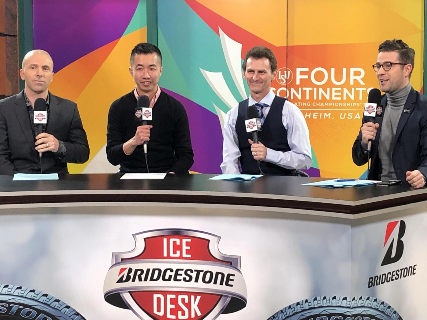 Todd Eldredge Ice Desk Four Continents 2019